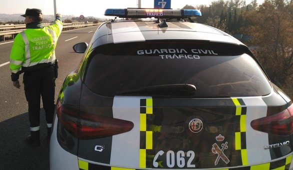 Tres feridos tras un accidente múltiple en Coristanco
