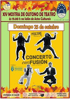 Este domingo hai teatro clown en Laxe
