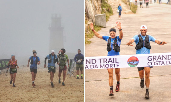 4 superviventes enfróntanse ao Olimpo Celta para culminar un fermoso Grand Trail Costa da Morte