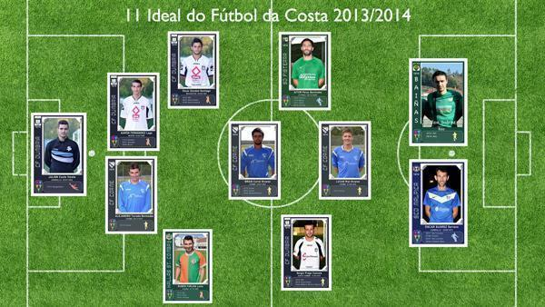 11 ideal do Futbol da Costa- EQUIPO