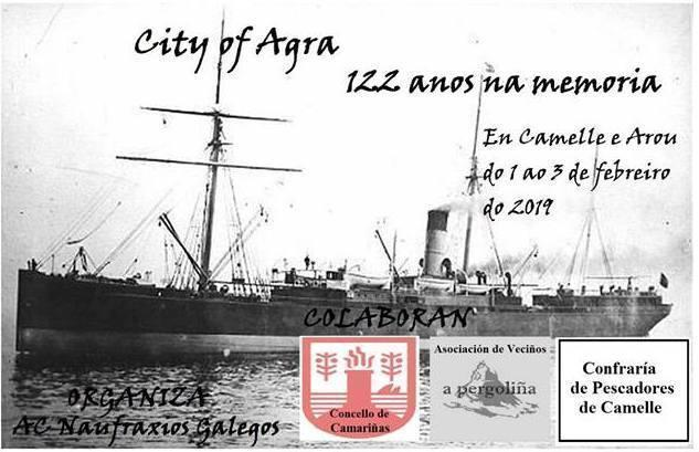 122 anos na Memoria do City of Agra-Camelle
