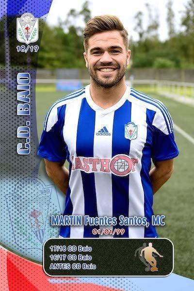 Cromos de Martin MC do CD Baio