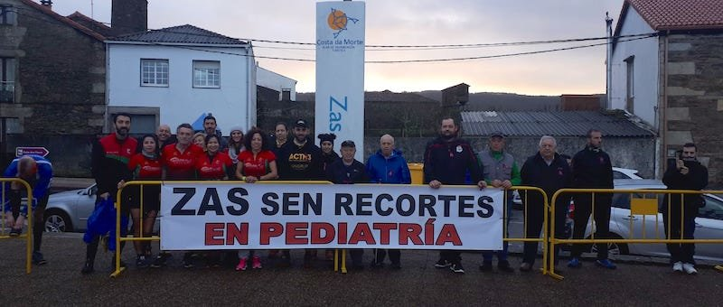 Zas sen recortes en Pediatria no Trail da Filloa