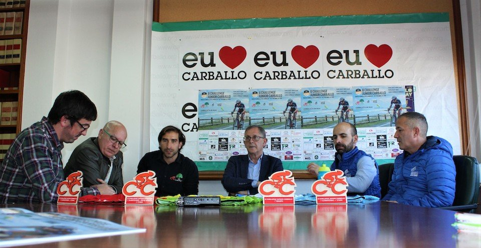 Presentación do Challenge Junior de Carballo
