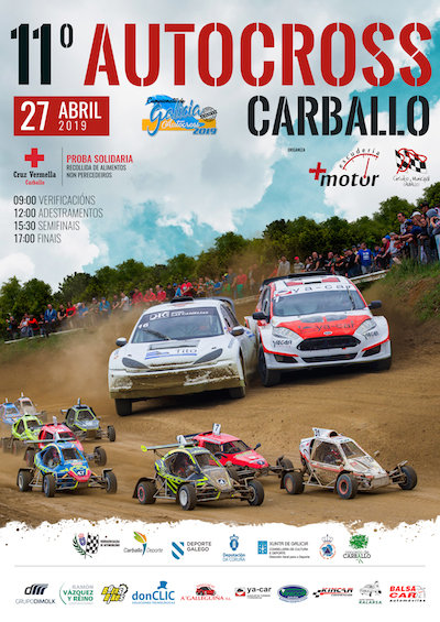 Cartel Autocross Carballo 2019