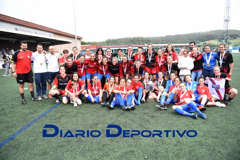 Bergan e As Miudas Copa da Costa feminina