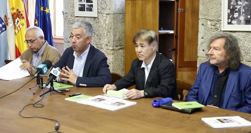Takekazu Asaka nun acto en Galicia