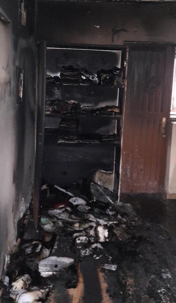 Incendio provocado en Vieiro 2