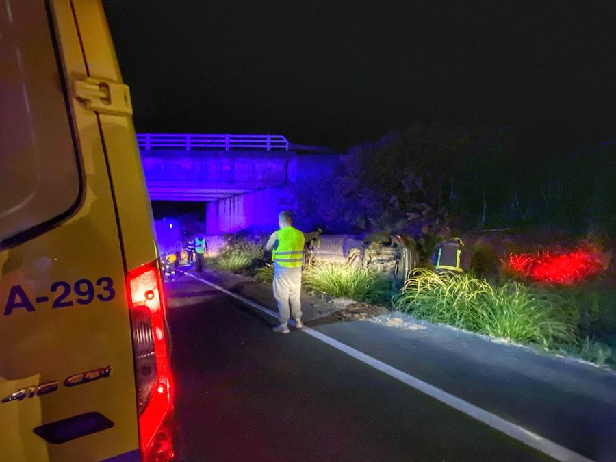 Accidente en Malpica